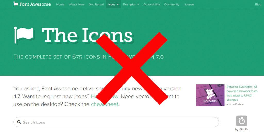 機能②:FontAwesomeIcons4.7からの脱却